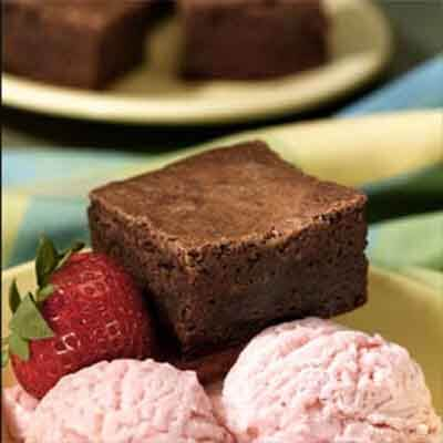 Ultimate Fudgy Double Chocolate Brownies Image
