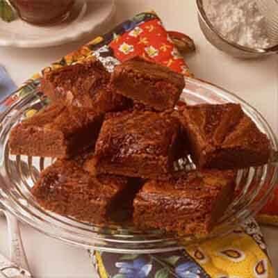 Ultimate Fudgy Raspberry-Marbled Brownies Image