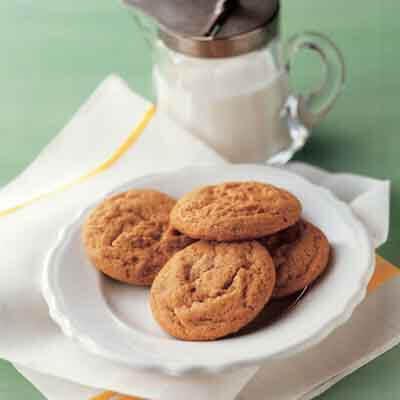 Saucepan Molasses Cookies Recipe