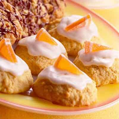 Glazed Orange Drop Cookies Recipe