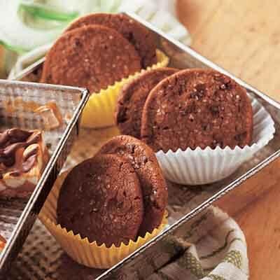 Slice 'n Bake Brownie Rounds Image