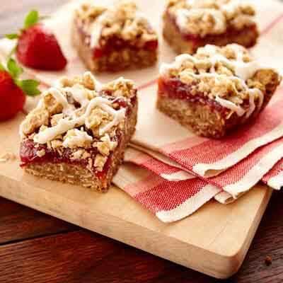 Strawberry-Rhubarb Bars Image