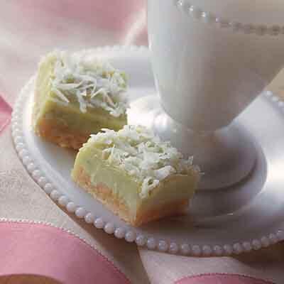 Creamy Lime-Coconut Bars Image