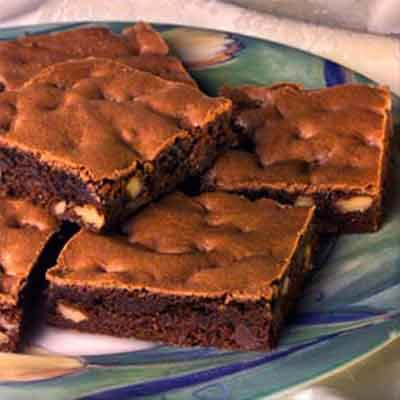 Easy Double Chocolate Chip Brownies Image