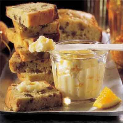 Nutty Orange Holiday Loaves With Marmalade Butter Image