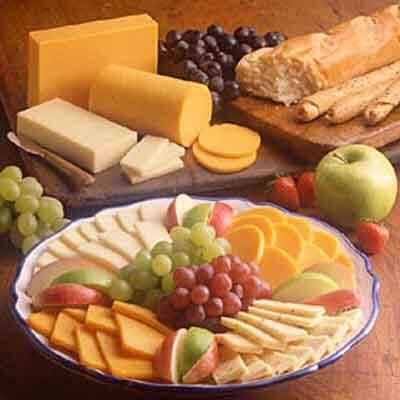 Cheese & Fruit Platter Image