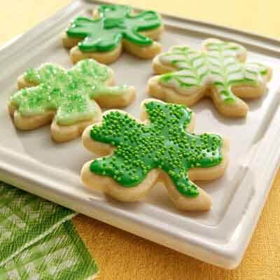 St. Patrick's Day Cut-Out Cookies Recipe