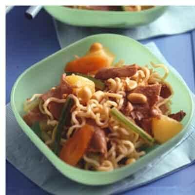 Pan-Asian Beef & Noodle Salad Image