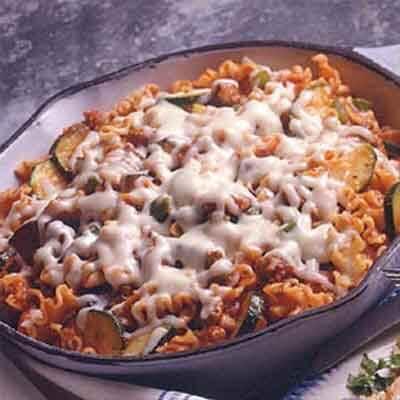Skillet Sausage Lasagna Image
