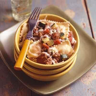 Ravioli Beef & Zucchini Image