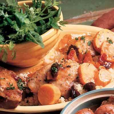 Fruited Turkey Thighs & Yams Image