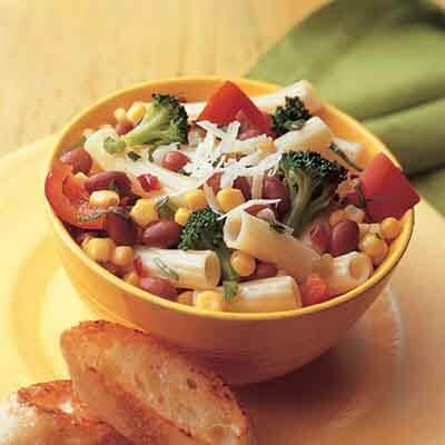 Red Bean & Vegetable Rigatoni Image