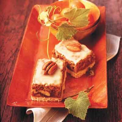 Spicy Butterscotch Bars Image