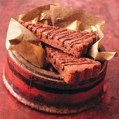 Chocolate Glazed Mocha Wedges Image