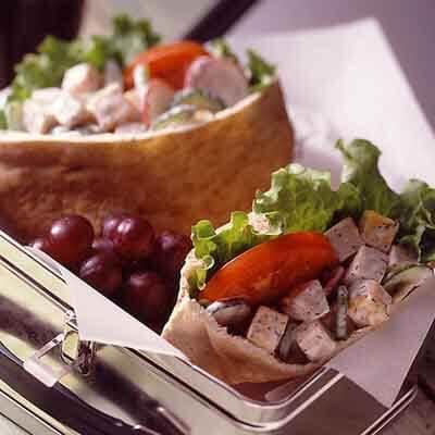 Garden Turkey Salad Pockets Image