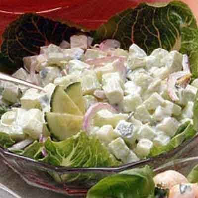 Creamy Cucumber Salad Image