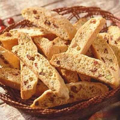 Cranberry Nut Biscotti Image