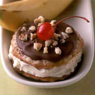 Banana Split Ice Cream Sandwiches Image