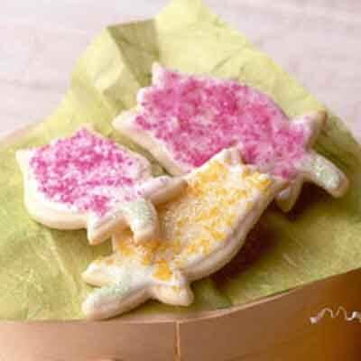 Springtime Orange Butter Cookies Recipe