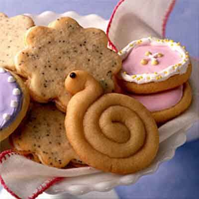 Spring Snail Maple Cookie Recipe