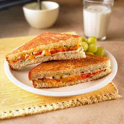 Herbed Grilled Cheese Sandwich Image