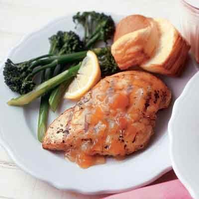 Apricot Honey Grilled Chicken Image