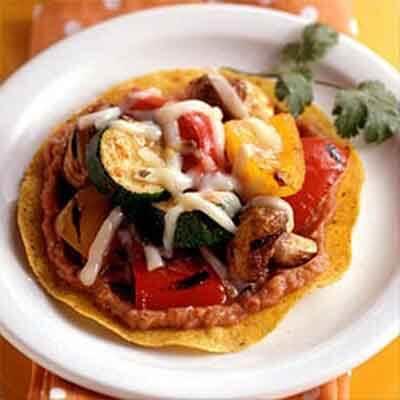 Grilled Vegetable Tostadas Image
