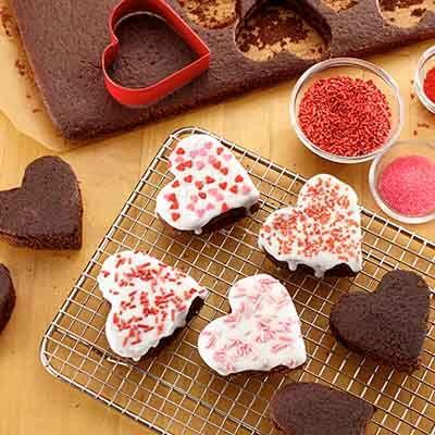 Queen Of Hearts Brownies Image