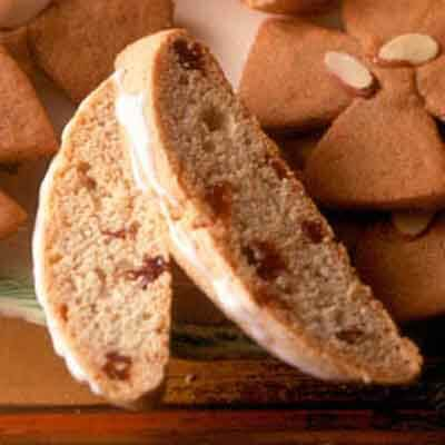 Cherry Eggnog Biscotti Image