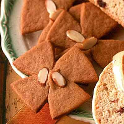 Cut-Out Windmill Spice Cookies Recipe