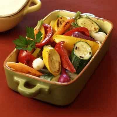 Grilled Garden Vegetables Image
