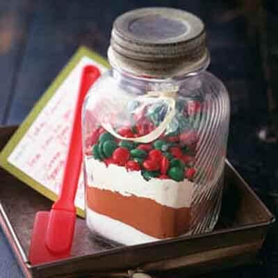 Fudgy Brownie Mix In A Jar Image