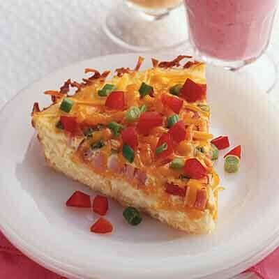 Potato, Ham & Cheese Bake Image