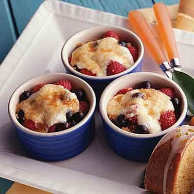 Blueberry Raspberry Broil Image