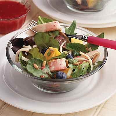 Berry Turkey Salad Recipe