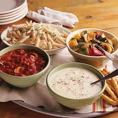 Top-Your-Own Pasta Bar Image