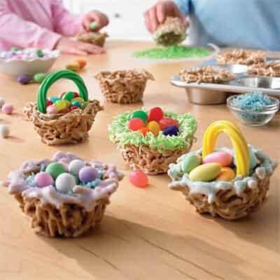 simple spring baskets