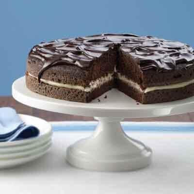 Chocolate Boston Cream Pie Image
