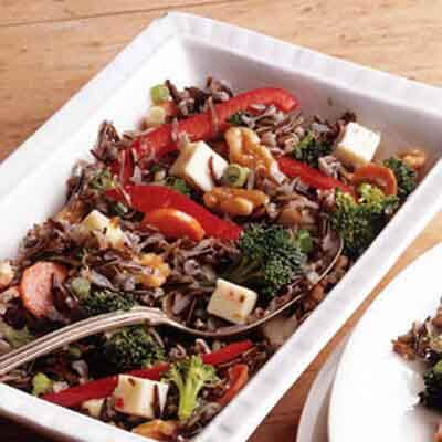 Wild Rice & Pepper Jack Salad Image