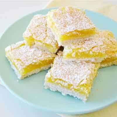 Double Lemon Bars Image
