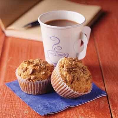 Three-Grain Sunflower Muffins Image