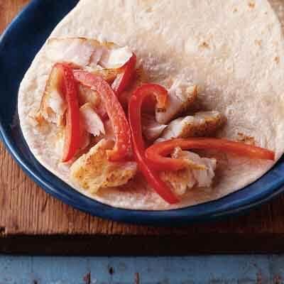 Fish Tacos With Cilantro Slaw Image