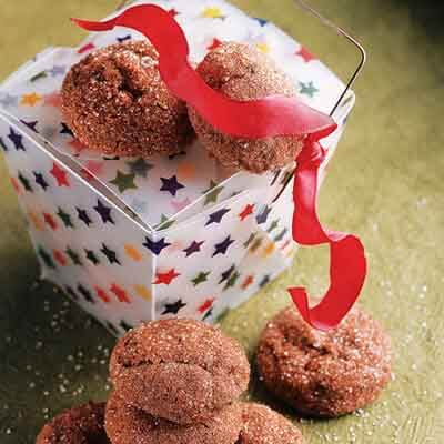 Cocoa Spice Crackles Image