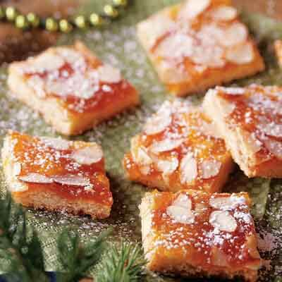 Tiny Apricot Almond Squares Image