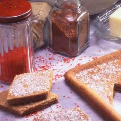 Easy Gingerbread Bars