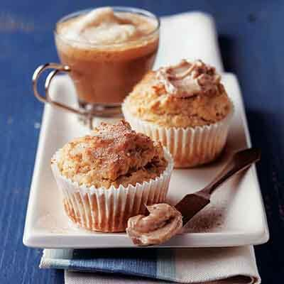 Eggnog Muffins With Spiced Butter Image