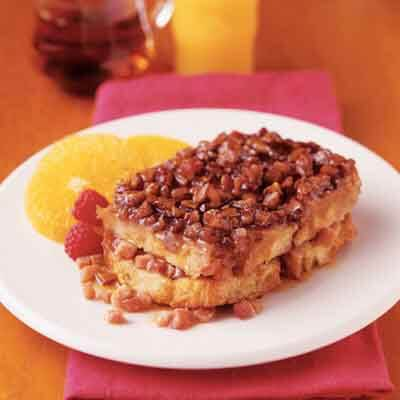 Baked Butter Pecan French Toast Image