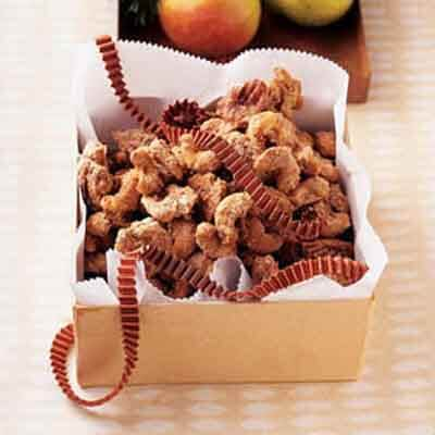 orange espresso spiced nuts