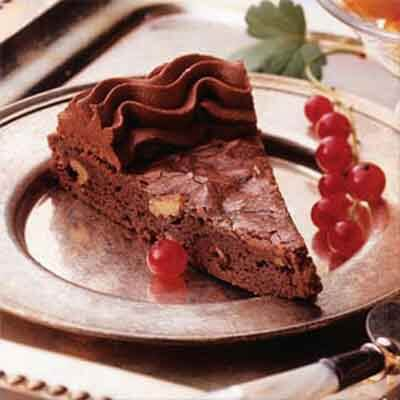 Truffle Topped Brownie Tart Image