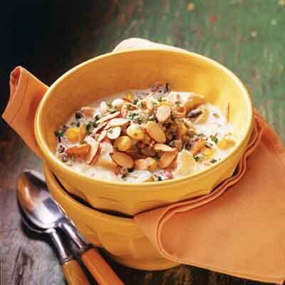 Curried Chicken Wild Rice Chowder Image